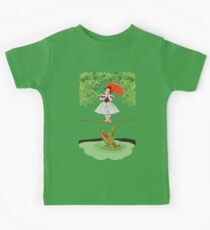 Cute halloween The crocodile girl Deadly circus Kids Tee
