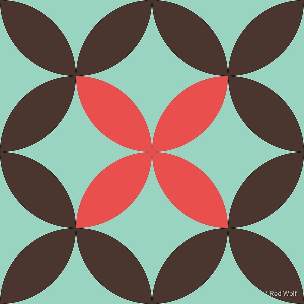 Geometric Pattern: Circle Nested: Nandina by * Red Wolf