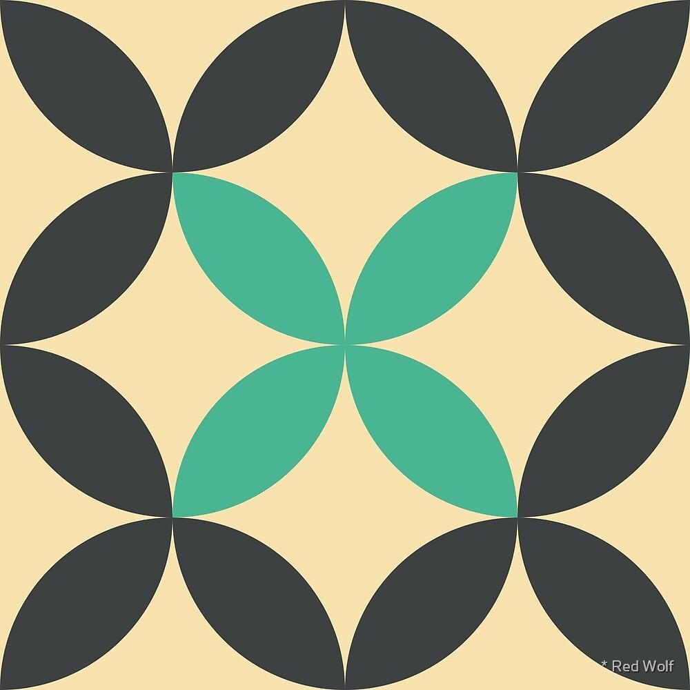 Geometric Pattern: Circle Nested: Sapra by * Red Wolf