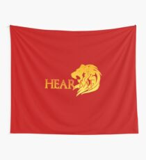 Hear Me! Wall Tapestry