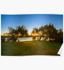 Golden Lake, Yanchep National Park Poster