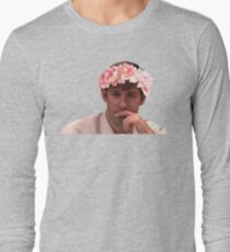 Jim Adorned with the Hottest of Flower Crowns T-Shirt