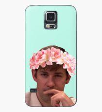 Jim mit der heißesten Blumenkrone geschmückt Hülle & Klebefolie für Samsung Galaxy