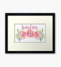 Boston University/Boston College Framed Print