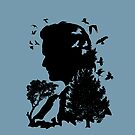 Jamie After Culloden silhouette by jennyjeffries
