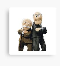 Statler and Waldorf Canvas Print