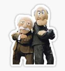 Statler and Waldorf Sticker