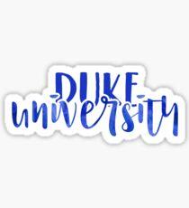 Duke University - Style 1 Sticker