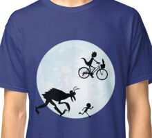 E.T. Rick and Morty Classic T-Shirt