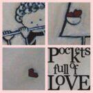 pockets full of Love 2 T-Shirt by Midori Furze