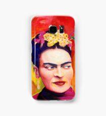 Exotic Bird - Frida Kahlo - Acrylic on canvas by Nina Vox Samsung Galaxy Case/Skin