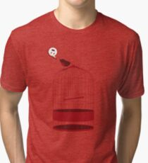 singing bird Tri-blend T-Shirt