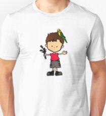 Budgie Boy S Unisex T-Shirt