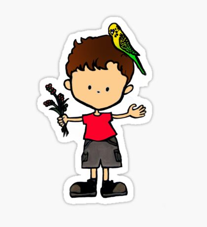 Budgie Boy S Sticker