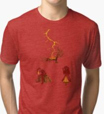 The Discovery of Fire #2 Tri-blend T-Shirt