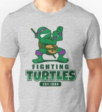 Fighting Turtles - Donatello Unisex T-Shirt