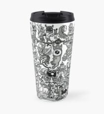 """The Crowned Eye Sees All"" Travel Mug"