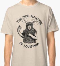 Camiseta clásica El monstruo de pantano de Louisiana