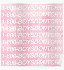 1-800-BOYSDONTCRY Poster