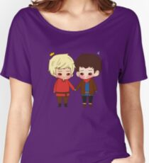 A King and His Sorcerer / A Sorcerer and His King Women's Relaxed Fit T-Shirt