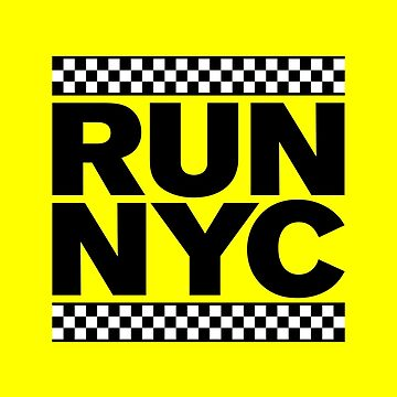 RUN NYC TAXI by tinybiscuits