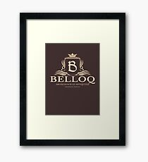 Belloq Antiquities Framed Print