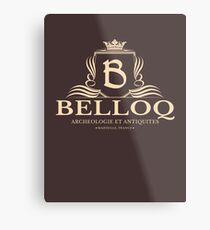 Belloq Antiquities Metal Print