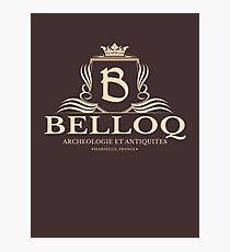 Belloq Antiquities Photographic Print