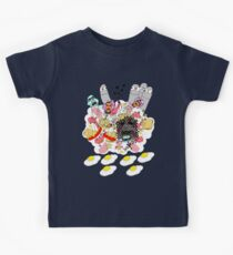 Knitted Lady #5 (knitted ladies in a heavenly place) Kids Tee