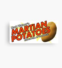 Watney's Martian Potatoes Canvas Print