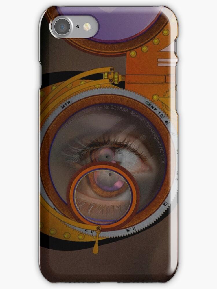 eye as a lens - steampunk by dennis william gaylor