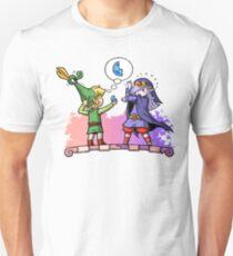 Zelda Vaati and Link  Unisex T-Shirt