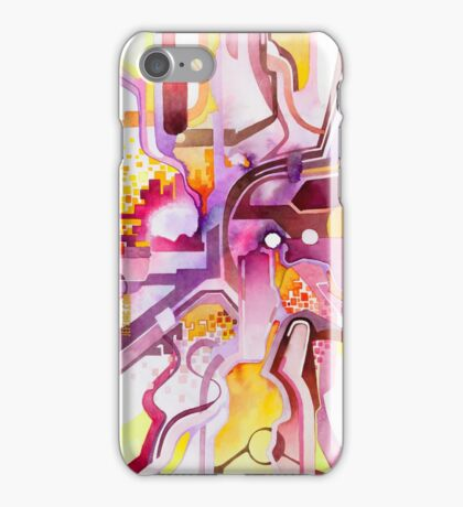 Sunberry - Abstract Watercolor Painting iPhone Case/Skin