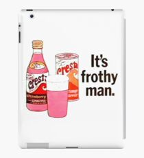 Cresta - IT'S FROTHY MAN iPad Case/Skin