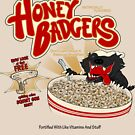 Honey Badgers by Caddywompus