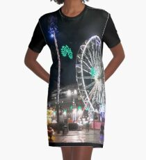 Christmas in George Square Graphic T-Shirt Dress