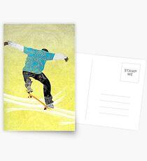 Skateboard 3 Postcards