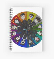 Homestuck Circle Spiral Notebook