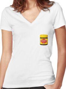 Vegemite Women's Fitted V-Neck T-Shirt