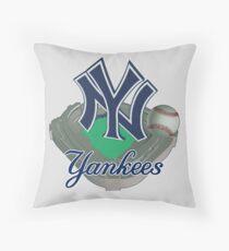 New York Yankees NY Throw Pillow