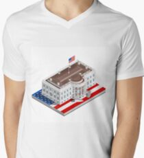 Election Infographic USA White House T-Shirt