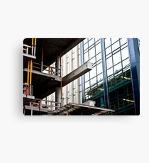Construction Prongs Canvas Print