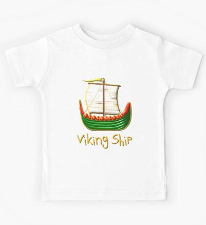 Viking Longship design Kids Clothes