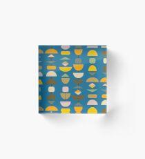 Ingham Pacific Blue Cushion Acrylic Block