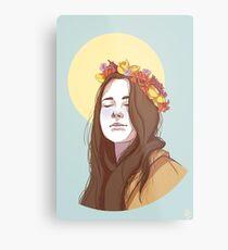 Amy Dyer: The Beautiful Genius Metal Print