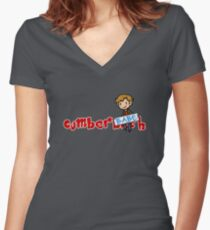 Benedict Cumberbabe Women's Fitted V-Neck T-Shirt