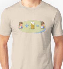 Sad + Beer = Awesome T-Shirt