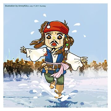 Chief Jack Sparrow by Amoy