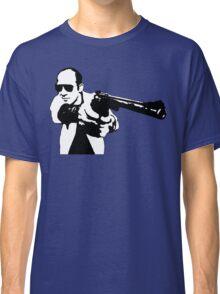 Hunter S Thompson - Gun - Large Classic T-Shirt