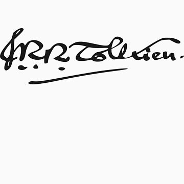 J. R. R. Tolkien Signature by zachsbanks